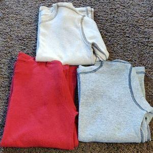 Set of 3 Boy's Thermal Shirts